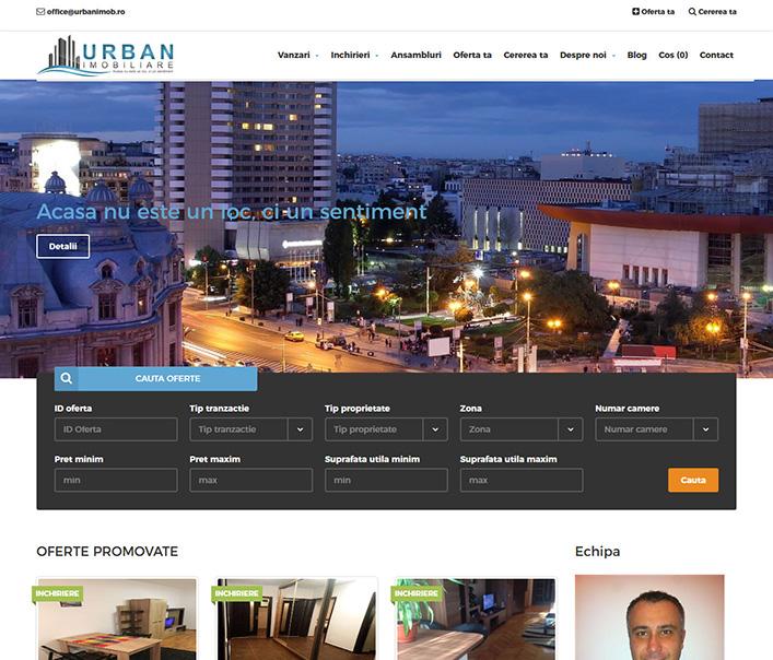 Urban Imobiliare - agentie imobiliara Bucuresti