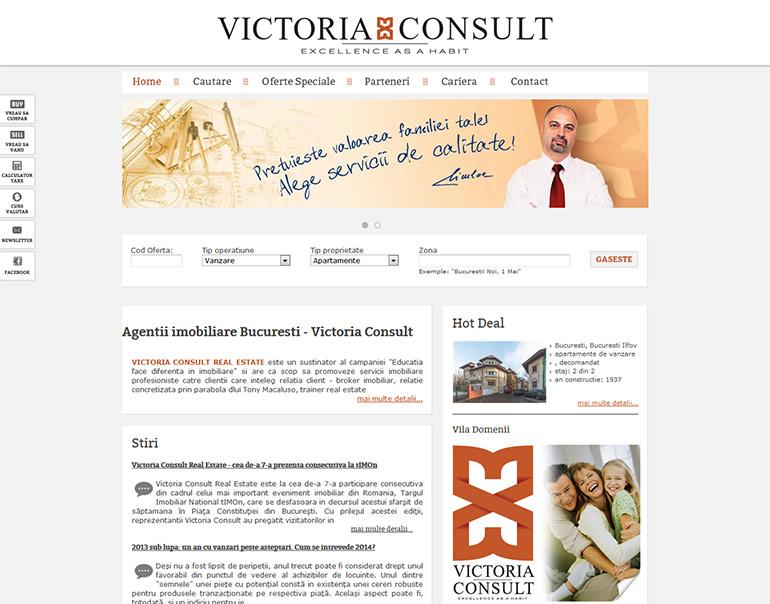 Victoria Consult - agentie imobiliara Bucuresti