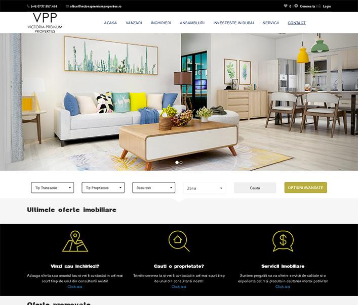 Victoria Premium Properties - agentie imobiliara Bucuresti