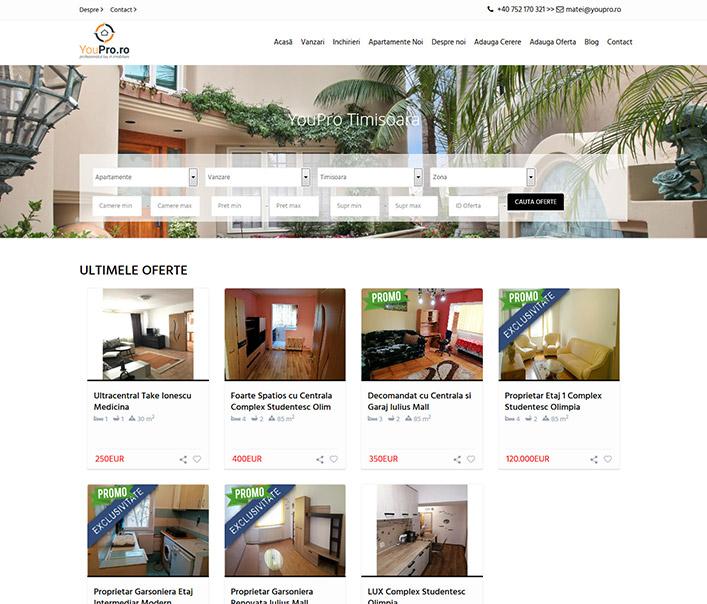 You Pro Imobiliare - agentie imobiliara Timisoara