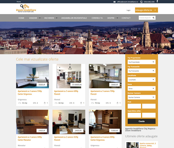 Zoom Imobiliare - agentie imobiliara Cluj Napoca